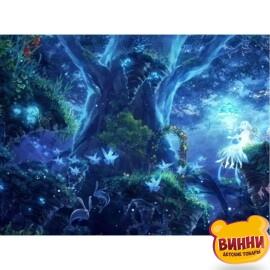 Купить алмазную мозаику Магия леса 30*40 см, с рамкой, в коробке, H9009