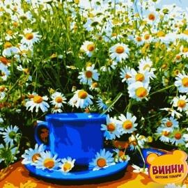 Купити картину за номерами Artissimo Сніданок у ромашках 40*50 см, PN5517
