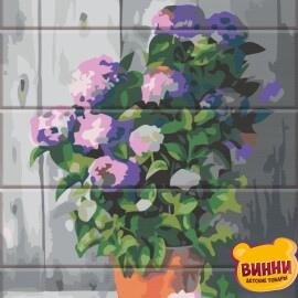 Купити розпис за номерами на дереві ArtStory Квіти 30*40 см, ASW137