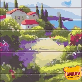 Купити розпис за номерами на дереві ArtStory Пейзажі Франції 30*40 см, ASW139