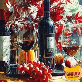Багряне вино, 40*50 см, GX34090
