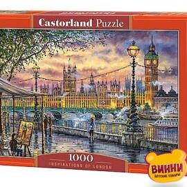 """Кастор пазлы 1000 """"Вдохновение Лондона""""68*47 см, С-104437"""