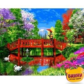 Купить картину по номерам Babylon Озеро Фудзи, 40*50 см VP1162