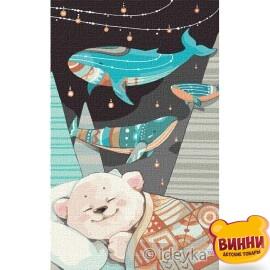 Солодкі сни ведмедика © Софія Нікуліна, 25*40 см KHO2367