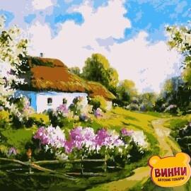 Купити картину за номерами Artissimo Весна 40*50 см, PN2636