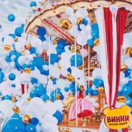 Купити картину за номерами RainbowArt Повітряні кулі в Парижі, 40*50 см, GX32632
