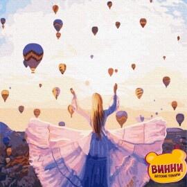 Купити картину за номерами RainbowArt Повітряні кулі в Каппадокії, 40*50 см, GX32639