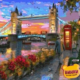 Купити картину за номерами RainbowArt Лондон, 40*50 см, GX33314