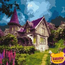 Купити картину за номерами RainbowArt Казковий замок, 40*50 см, GX36525