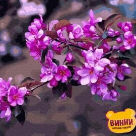 Купити картину за номерами RainbowArt Весняний цвіт, 40*50 см, GX36571