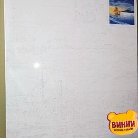Купити картину за номерами Нікітошка Місяць над лодкою 40*50 см, GX37359