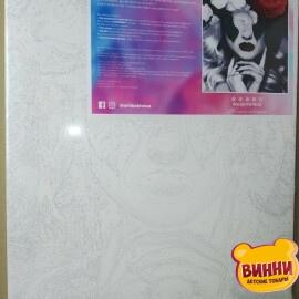 Купити картину за номерами Artissimo Жінка-квітка, 40*50 см, PN7600