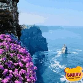 Купить картину по номерам Mariposa Морские скалы, 40*50 см Q2187