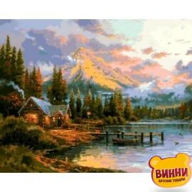 Купить картину по номерам Mariposa Окончание прекрасного дня , 40*50 см Q2250