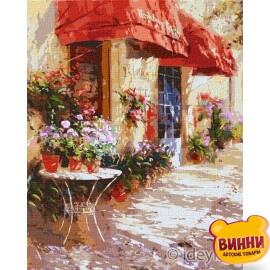 Квітковий магазин © Ira Volkova, 40*50 см KHO3590