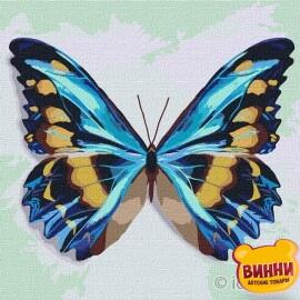 Блакитний метелик, 25*25 см KHO4207
