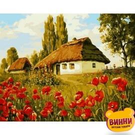 Купить картину по номерам Babylon Маков цвет, 40*50 см VP496