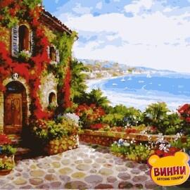 Купити картину за номерами Artissimo Сонячна Рів'єра 40*50 см, PN5515