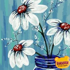 Купить картину по номерам ArtStory AS0792 Летние цветы