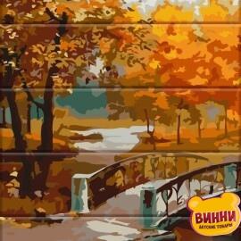 Купити розпис за номерами на дереві ArtStory Осінній парк 30*40 см, ASW067