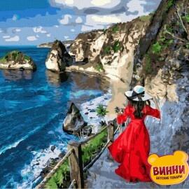 Купити картину за номерами RainbowArt Узбережжя, 40*50 см, GX38166