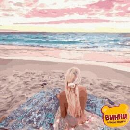 Купити картину за номерами RainbowArt На світанку, 40*50 см, GX39504