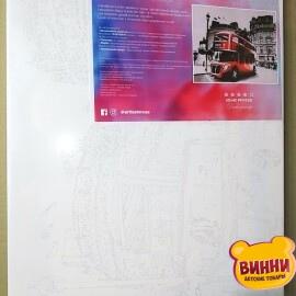 Купить картину по номерам Artissimo Лондонский даблдекер, 40*50 см, PN7436