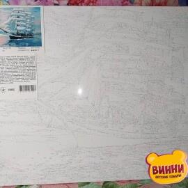Купити картину за номерами STRATEG Величний фрегат, 40*50 см, VA-2179
