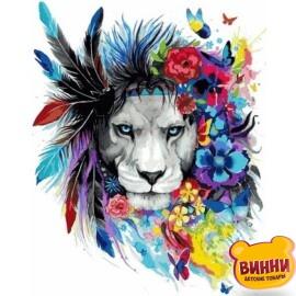 Купить картину по номерам Babylon Волшебный лев 40*50 см VP1016