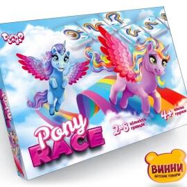 """Настільна розважальна гра """"Pony Race"""" G-PR-01-01"""