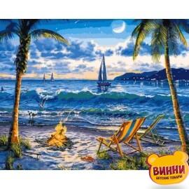 Купить картину по номерам Babylon Райский пляж 40*50 см VP1356