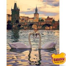 Купить картину по номерам Mariposa Романтическая Прага 40*50 см Q2248