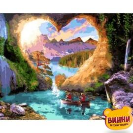 Купить картину по номерам Mariposa Пещера любви, 40*50 см Q2257