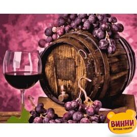 Купить картину по номерам Mariposa Вино в дубовой бочке, 40*50 см Q2258