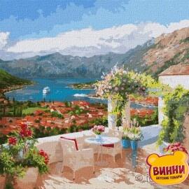 Купити картину за номерами Ідейка Которська бухта ©Ira Volkova, 50*50 см KHO3592