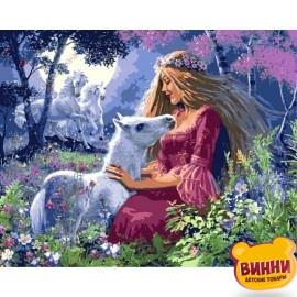 Купить картину по номерам Babylon Сказочная принцесса, 40*50 см VP438