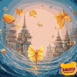 Купити картину за номерами Ідейка Метелики душі © Ігор Сокольський, 40*50 см KHO5026
