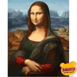 Купить картину по номерам Babylon Мона Лиза, 40*50 см VP548