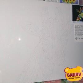 Купити картину за номерами STRATEG Жирафа поп-арт, 40*50 см, VA-0138