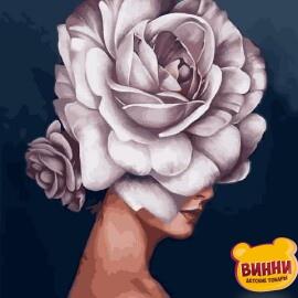Купить картину по номерам Babylon Девушка-роза Эмми Джадд, 40*50 см VP1334