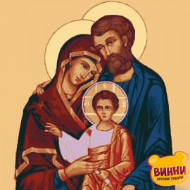 Купити картину за номерами ікону Riviera Blanca Святе сімейство, 40*50 см, RBI-003