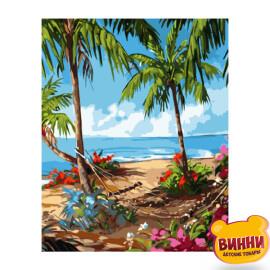 Купити картину за номерами Strateg Гавайські будні, 40*50 см, VA-3075