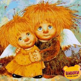 Купить картину по номерам Babylon Солнечные ангелы, 30*40 см VK281
