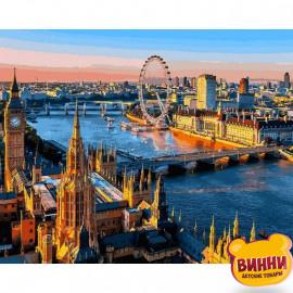 Купить картину по номерам Babylon Лондон, Вид на Темзу, 40*50 см VP1089