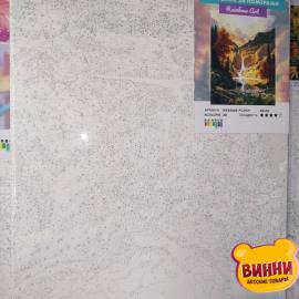 Купити картину за номерами RainbowArt Гірський водоспад, 40*50 см, GX34564