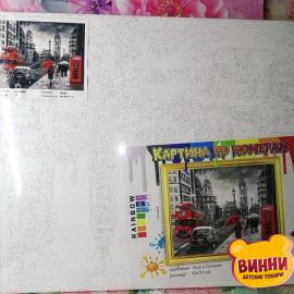 Купить картину по номерам RainbowArt Леди в Лондоне, 40*50 см, GX34828