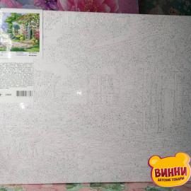 Купити картину за номерами STRATEG Заміський дім 40*50 см, VA-2123