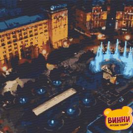 Купити картину за номерами Riviera Blanca, Вечірній Київ, 40*50 см, RB-0277
