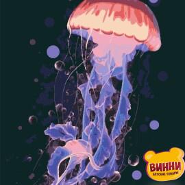 Купити картину за номерами Riviera Королева темряви, медуза, 40*50 см, RB-0419