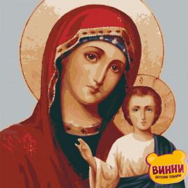 Купити картину за номерами ікону Riviera Blanca, Ікона Божа матір, 40*50 см, RBI-007